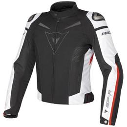 Toptan satış Yaz örgü nefes yarış takım elbise / şövalye off-road ceket / açık spor ceketler / motosiklet ceketler bisiklet giyim rüzgar geçirmez koruma var