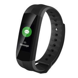 android gps tracker NZ - CD02 Smart Bracelet GPS Heart Rate Monitor Fitness Tracker Smart Watch IP67 Waterproof Smart Wristwatch For iPhone Android
