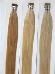 $enCountryForm.capitalKeyWord Australia - Pre Bonded I Tip Hair Extensions 22inch #60 Remy Human Keratin Hair 8-30 inch Silky Straight Fusion Hair Extensions 100 strands 100g