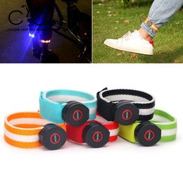 $enCountryForm.capitalKeyWord Australia - EYCI Bike Reflect Light Safety Warning LED Light Night Cycling Running Arm Leg Wrist Band