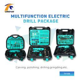 Großhandel Tungfull Dremel 30000RPM Dremel Zubehör-Set Mini Electric Grinder Mini Drill Graveur Schnitzen Schneiden und Polieren