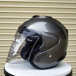2019 ARAI R4 Top hot 3/4 casco casco moto casco mezzo aperto casque motocross TAGLIA: S M L XL XXL, Capacete in Offerta