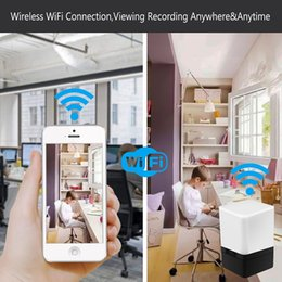small wifi cameras NZ - Camera WiFi HD 1080P Small Nanny Cam Home Security Motion Detection Nigh Vision Remote View with Cell Phone App Android iPhone