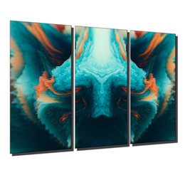 oil painting art wall decor Australia - Symmetry,3 Pieces Canvas Prints Wall Art Oil Painting Home Decor (Unframed Framed) .
