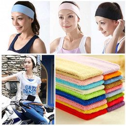 $enCountryForm.capitalKeyWord Australia - Women Sports Yoga Hair Bands Fitness Yoga Hair Lead Cloth Towels Sweat Sbsorbing Hand Band