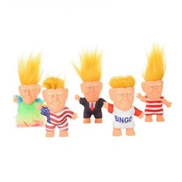 New model kids online shopping - Donald Trump Action Figures Doll USA President John Trump Dressed Model Kids Children Hand Play Funny Toys MMA1329