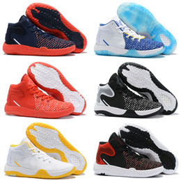 boys kd shoes Australia - New Kd Trey 5 Vii Ep Kids Mens Basketball Shoes Male Luxury Booties Des Chaussures Mens Black Red White Platform Outdoor Sports Sneakers