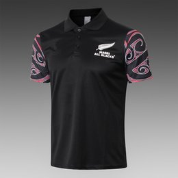 $enCountryForm.capitalKeyWord NZ - 2019 2020 Noruega World Cup maori rugby jersey NRL KIWIS 19 20 World Cup Short sleeve training suit rugby shirt size S-3XL