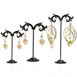 $enCountryForm.capitalKeyWord Australia - New Fashion Black Jewelry Shelf Display Rack Stand Holder Earrings Ear Stud Metal Organizer Storage Vintage Exquisite Gifts Boutique Tree