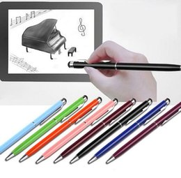 Pointed stylus online shopping - Point Stylus Capacitive Touch Metal Stylus Pen Touch For ipad for iphone in Touch Screen Stylus gel ink pen