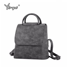 $enCountryForm.capitalKeyWord Australia - Ybyt Brand 2018 New Pu Leather Women Rucksack Multipurpose Satchel Female Shopping Shoulder Bags Ladies Casual Travel Backpacks Y190627