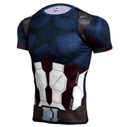 $enCountryForm.capitalKeyWord UK - New Fitness Compression Shirt Men T Shirt Bodybuilding Tight Short Sleeve T shirt Brand Clothing Tops Free Shipping J15