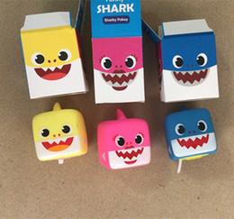 Funny Toys Music Australia - BABY SHARK Music Box Soft Silicone Cube LED Luminous Full Song Cartoon Music Funny Shark Pokey Animal Toy kids Pinkfong SHARK Eglish Songs