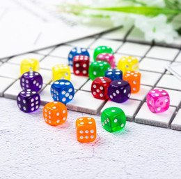 $enCountryForm.capitalKeyWord Australia - 16mm Transparent 6 Sided Dice Clear Crystal Games Dice Party bar Drinking Game Entertainment Accessories Good Price