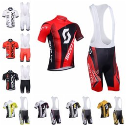 scott bikes NZ - 2019 ROCK RACING SCOTT Cycling Jersey set Summer Pro Team Short Sleeve racing Bike Clothes Ropa Ciclismo quick dry Sportswear K042502