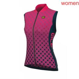 $enCountryForm.capitalKeyWord Australia - New ALE Team cycling vest Women summer quick dry sleeveless bike shirt road bicycle Jersey racing tops outdoor sports uniform Y081603