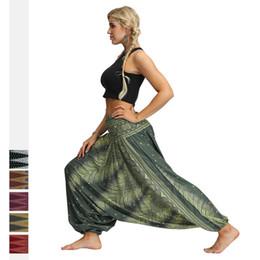 $enCountryForm.capitalKeyWord Australia - Summer Women Yoga Pants Harem Hippie Loose High Waist Crotch Pants Bloomers Jogger Casual Fitness Workout Track Pant Sportswear