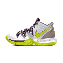 404cae8c67f9 Cheap men kyrie 5 basketball shoes Mamba Day White Blue Black Gold Yellow  Red kids kyries irving sports sneakers tennis with box size 7 12