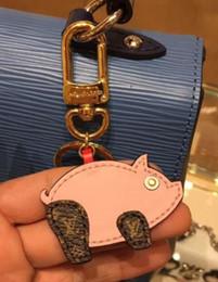 Cute Iron Man Figure Australia - Fashion Cute Women's Bag&Car Pendant High-end Handmade PU Handbag Key Chains Tassel Rodeo Horse Bag Charm F403