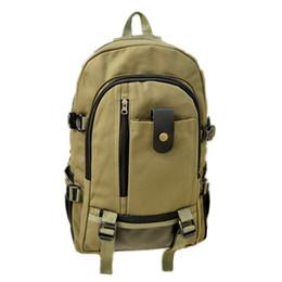 Khaki Backpack Sale Australia - Hot Sale Canvas Backpack Rucksack School Bag Women Backpack Girl Bag Travel By Walking Bag Fashion Casual Large Capacity