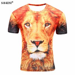 0a586b716539 New Brand 3d T-shirt Animal Lion 3D Short Sleeve T Shirt Men Summer Funny tshirt  Men Clothing Casual Fitness TeeTop Tiger Tshirt