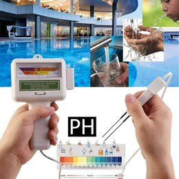 aquarium water tester Australia - Chlorine Water Quality Tester Portable Home Swimming Pool Accessories Water Cleaner Spa Aquarium PH Meter Test Monitor Checker