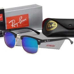 Color Flash Drive Australia - Brand Designer Polarized Sunglasses Classic Pilot Sun glasses for Men Women Driving glasses UV400 Metal Frame Flash Mirror polaroid Lense