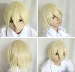 Alois trAncy online shopping - WIG LL HOT gt gt gt Kuroshitsuji Black Butler Alois Trancy Short Light Yellow Party Cosplay Wig