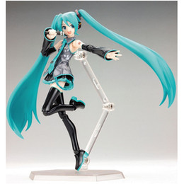 Top new Toys online shopping - Hatsune Miku Figma Virtual Singer Figure Comic Movable Model Blue Lovely Cute Top Quality Cm New dma D1