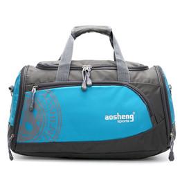 63df358b4971 New Professional Nylon Sports Gym Bag Women Men for Fitness Yoga Training  Shoulder handbags with Shoes Storage sac de sport  29551