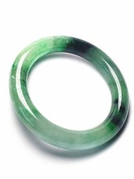 $enCountryForm.capitalKeyWord UK - Koraba Fine Jewelry Vintage 100% Natural Green Jadeite JADE Bracelet Bangle Women Free Shipping