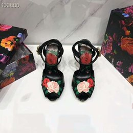 Wholesale girl sexy pvc dress for sale - Group buy 2019 women high heels dress shoes party sandals girls sexy pointed toe shoes buckle platform pumps wedding shoes black green red pink color