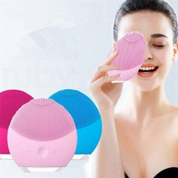 $enCountryForm.capitalKeyWord Australia - Usb Facial Cleansing Brush Sonic Vibration Mini Face Cleaner Silicone Deep Pore Cleaning Electric Waterproof Massage R0385