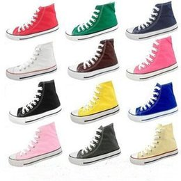 $enCountryForm.capitalKeyWord Canada - promotional price! HOT New 15 Color All Size 35-46 Low-Top & High-Top Adult sports Classic Canvas Shoe Sneakers Men's Women's Canvas Shoe