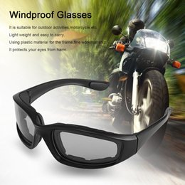 Windproof glasses online shopping - UV400 Motorcycle Bike Riding Protective Sun Glasses Windproof Dustproof Eyes Glass Cycling Goggles Eyeglasses Eyewear