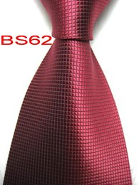 tying tie UK - BS62 #100%Silk Jacquard Woven Handmade Men's Tie Necktie