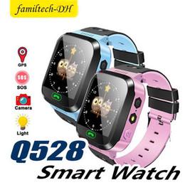 $enCountryForm.capitalKeyWord Australia - Touch Screen Q528 Tracker Watch Anti-lost Children Kids Smart Watch LBS Tracker Wrist Watchs SOS Call For Android IOS