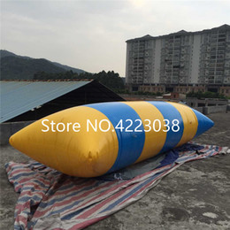 Jumping Games Australia - Free shipping 5x2m 2019 hot sale water blob jump, inflatable water game toy, inflatable water blobs for sale