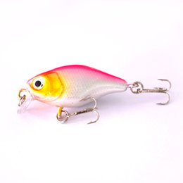mini jig lures Australia - Fishdrops 2PCS mini artificial 4g hard crankbait Fishdrops 2PCS Fishing lure mini hard lure artificial 4g