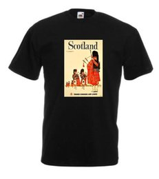 $enCountryForm.capitalKeyWord Australia - VINTAGE TRAVEL Scotland T-shirt-Retro Prints -Home-Holiday