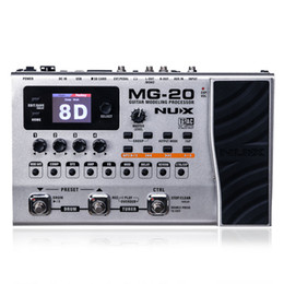 $enCountryForm.capitalKeyWord Australia - NUX MG-20 Guitar Multi-effects AMP Pedal Black Digitech Multi Effects Modeling Processor Guitarra Loop  Volume