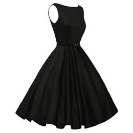d01c9e1484b7 2018 summer sexy dress women Vintage Bodycon Sleeveless Casual Retro  Evening Party Prom Swing Dress
