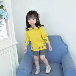 $enCountryForm.capitalKeyWord Australia - 2019 girls autumn spring and autumn models new tide female foreign children in the Korean version of the two-piece skirt sweater suit