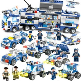 $enCountryForm.capitalKeyWord Australia - legoings City Police Series Compatible Building Blocks Sets building blocks toys for children Figures Bricks Educational SH190915