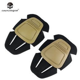 Paintball Tactical Gear Australia - Emerson Paintball Combat G3 Protective Knee Pads Military Army Knee Pads for Military Army G3 Pants Trousers Tactical Gear #71220