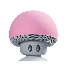 Iphone Stereo Player Australia - Mini bluetooth speaker Mushroom Shape Loudspeaker Super Bass Stereo Subwoofer Music Player For iPhone Andriod Mobile Phone