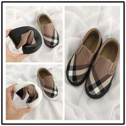 27fc1a0c7 BURBERRY GG003 Старший бренд класса люкс детская обувь мальчиков и девочек  модная повседневная обувь на открытом воздухе бег трусцой детская обувь
