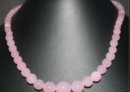 $enCountryForm.capitalKeyWord Australia - necklace J0035 Vogue pink jade Jewellery necklace 6-14mm