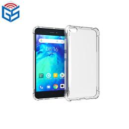 Cheap Back Case Australia - For Xiaomi Redmi Go Wholesale Cheap Anti Shock Full Clear Soft Gel Back TPU Cover Case