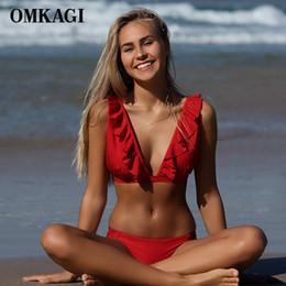 $enCountryForm.capitalKeyWord Australia - OMKAGI Brand Sexy Bikini 2019 Swimsuit Swimwear Women Push Up Bikinis Set Swimming Bathing Suit Beachwear Maillot De Bain Femme